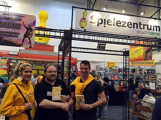 Messestand in Essen